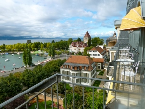 Beau Rivage Lausanne: View from Room