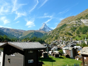 Cervin Palace Zermatt: View from Room