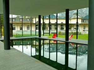 Flims Waldhaus: Indoor Pool