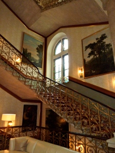 Dolder Grand Zurich: Entry Staircase